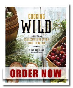 cooking wild cookbook john ash order now