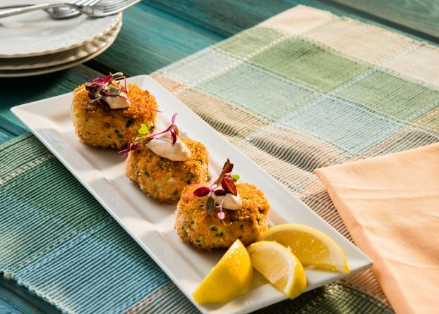 Salmon Cakes With Herb Aioli Chef John Ash