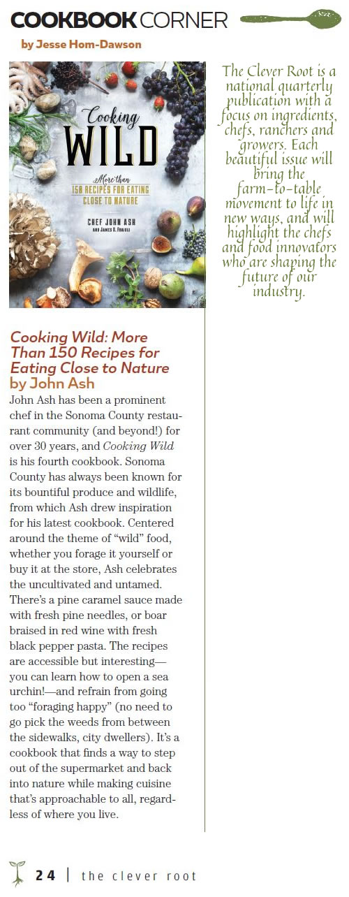 the clever root cookbook review of Cooking Wild