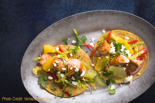 Grilled Salmon Soft Tacos Chef John Ash