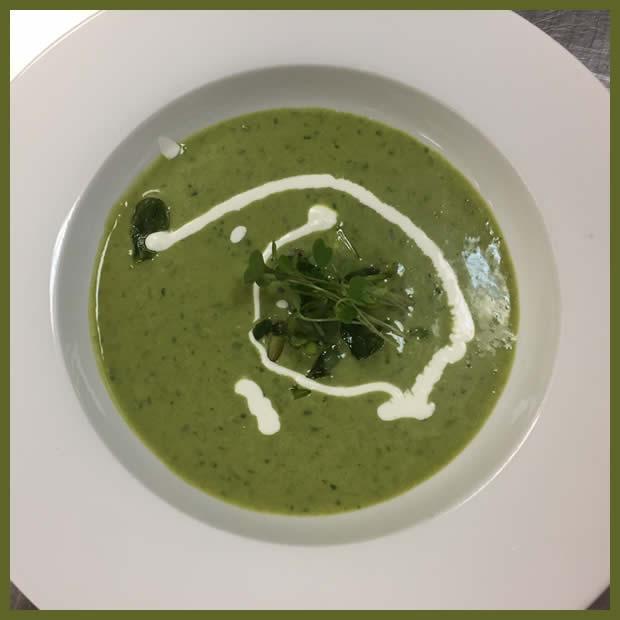 chef john ash pea soup