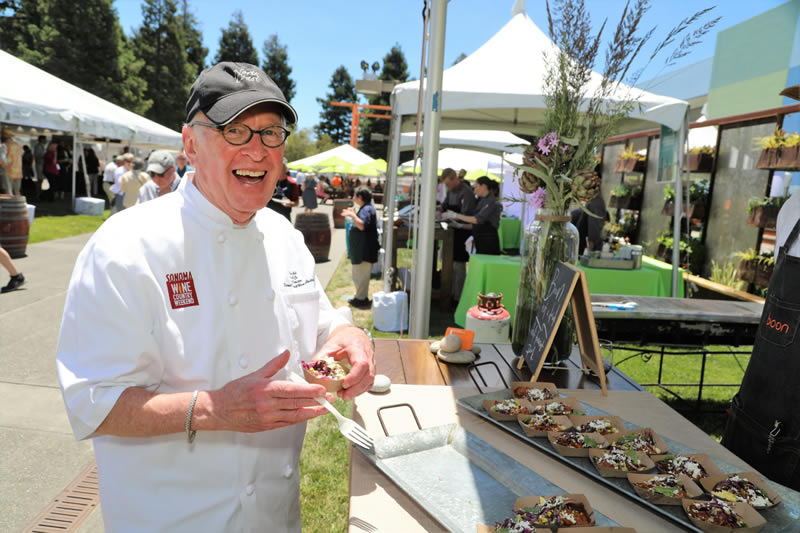 chef john ash at outdoor event